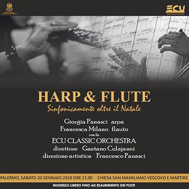 Harp & Flute. Sinfonicamente oltre il Natale