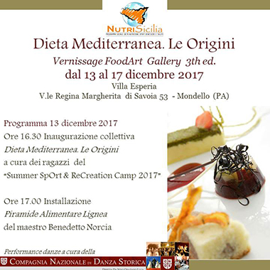 FoodArt Gallery 3th Edizione