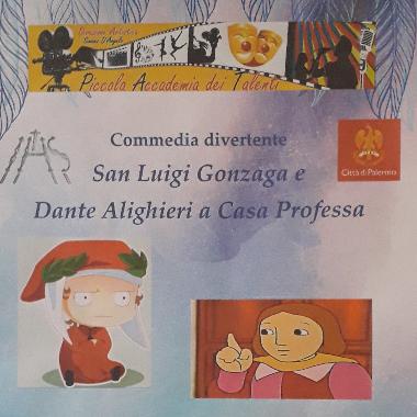 San Luigi Gonzaga e Dante Alighieri