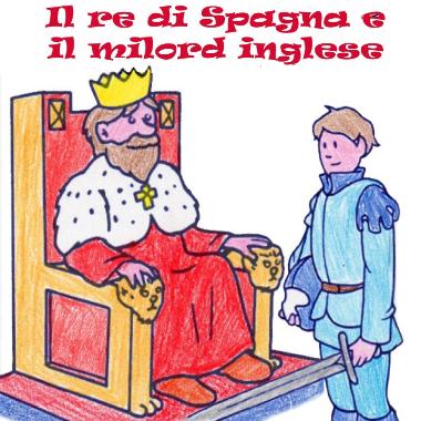 Immagine - Il Re di Spagna e il Milord inglese