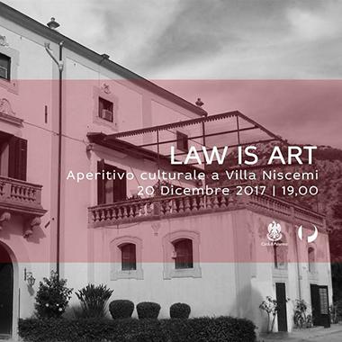 Law is art