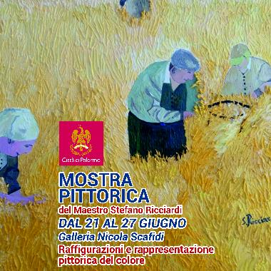 Mostra pittorica del Maestro Stefano Ricciardi