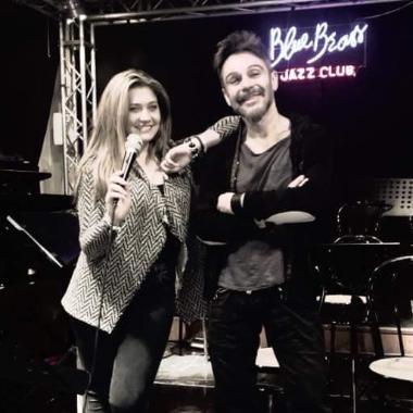 Monica Crivello e Ricccardo Simoncelli