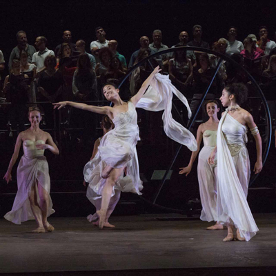 Pink Floyd Carmina Burana al Teatro di Verdura- due coreografie di Micha van Hoecke