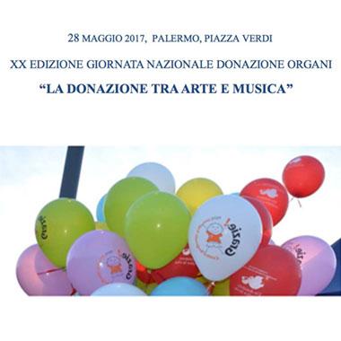 XX Edizione della Giornata Nazionale della donazione di organi e tessuti
