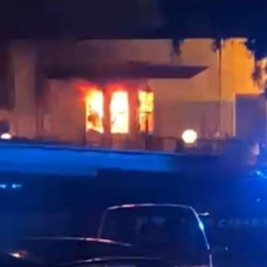 Incendiato l'asilo Peter Pan. Le dichiarazioni del sindaco Orlando e dell'assessora Marano