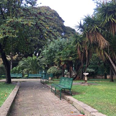 Disposta la chiusura di ville e giardini per il pomeriggio di oggi