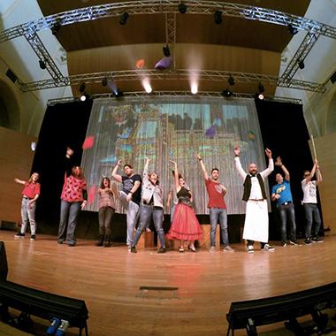 Col teatro si può. Cittadinanza responsabile e inclusione sociale, sorridendo, cantando e ballando