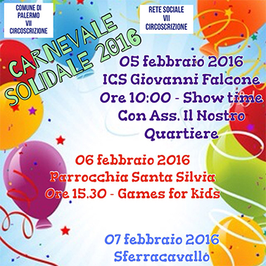 'Carnevale Solidale'