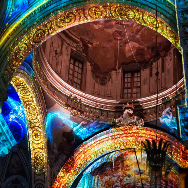 Immagine - Exstasis - Video mapping 360°
