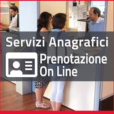 Prenotazione OnLine Servizi Anagrafici