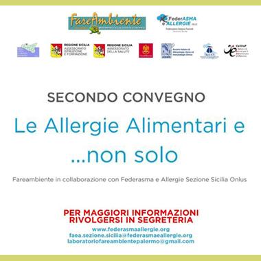 Le Allergie Alimentari e..non solo