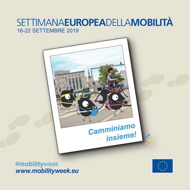 Settimana Europea per la mobilita' sostenibile - 16 - 18 settembre 2019