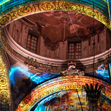 EXSTASIS Video mapping 360°
