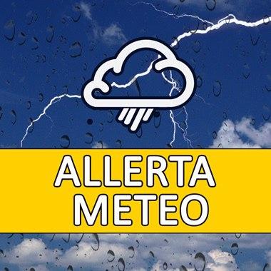 Meteo. Domani allerta gialla per rischio idrogeologico