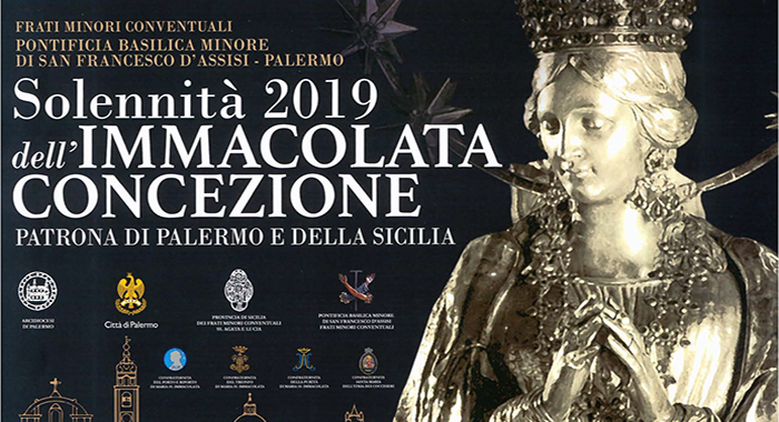 Solennità 2019 dell'Immacolata Concezione Patrona di Palermo e della Sicilia