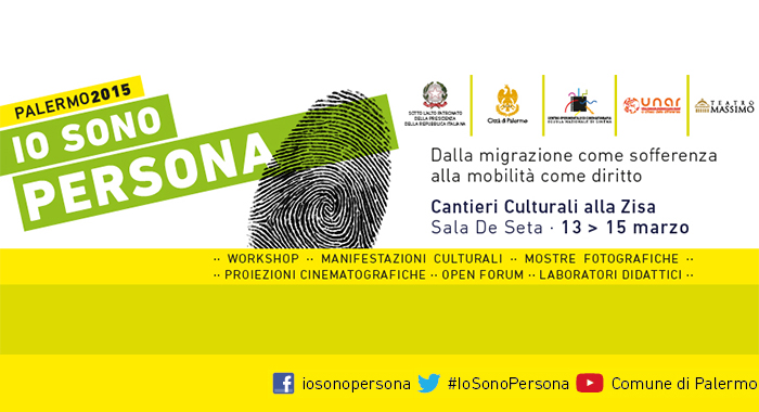 Convegno 'io sono persona, dalla migrazione come sofferenza, alla mobilità come diritto'