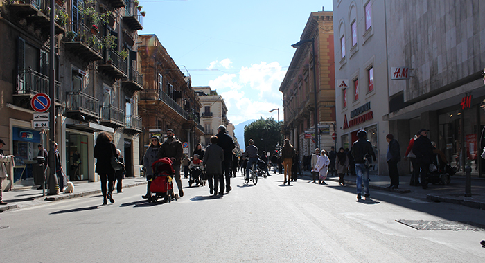 Mobilità - Via Ruggero Settimo sarà pedonale anche il sabato