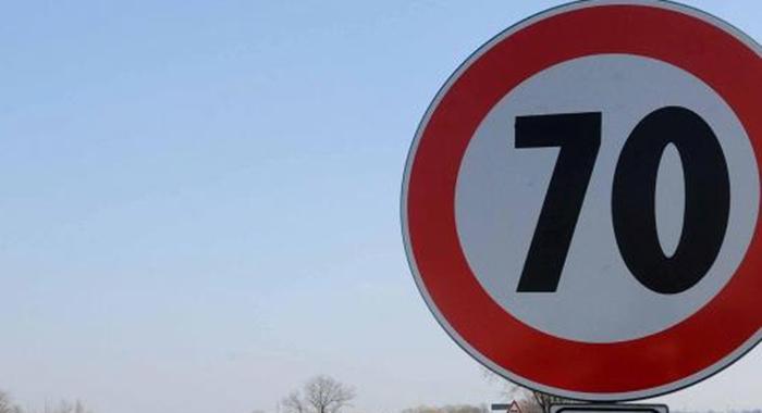 Circonvallazione. Chiarimenti su limiti di velocità