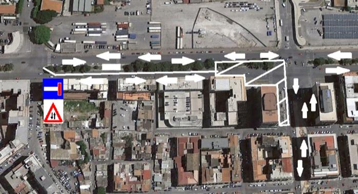 Anello ferroviario - Modifica circolazione e chiusura traffico via Francesco Crispi