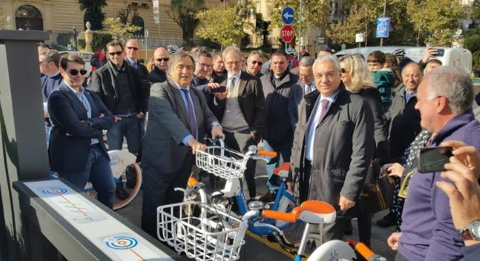 Mobilità - Al via il servizio di bike sharing