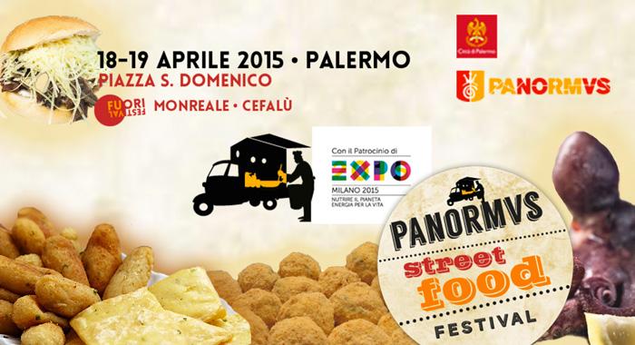 Al via  1� edizione Panormvus Street Food Festival