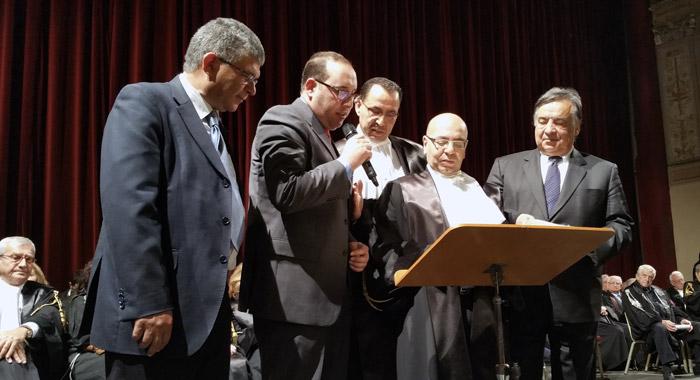 Cittadinanza onoraria al Nobel Mohamed Fadhel Mahfoudh