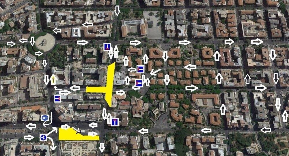 Anello ferroviario - cantieri viale Lazio, via Sicilia e viale Campania