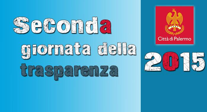 2° giornata della trasparenza 2015 del Comune di Palermo - Resoconto