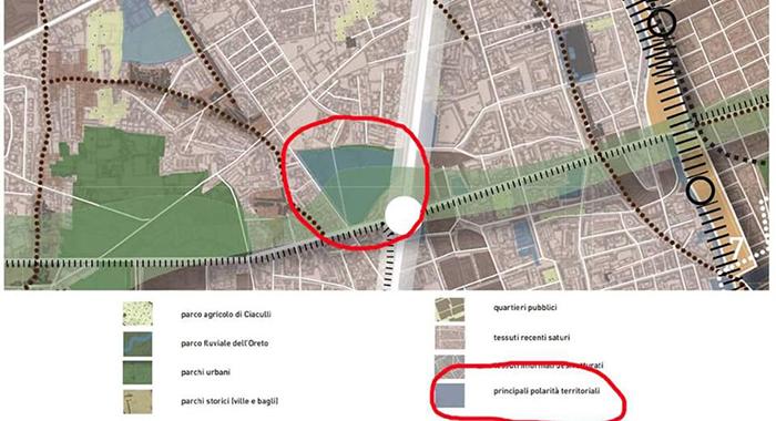 Parco Uditore - Orlando 'Il PRG prevede destinazione a Parco Urbano. In malafede chi dice altro'