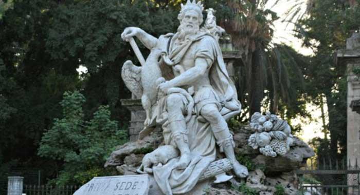 Patrimonio scultoreo. Al via interventi Parco statuario di Villa Giulia. Si inizia da complesso dell'emiciclo del Genio