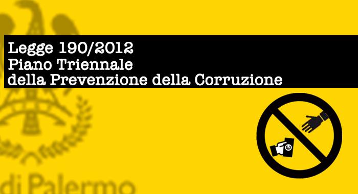 Revisione del Piano Triennale di prevenzione dei fenomeni corruttivi del Comune di Palermo