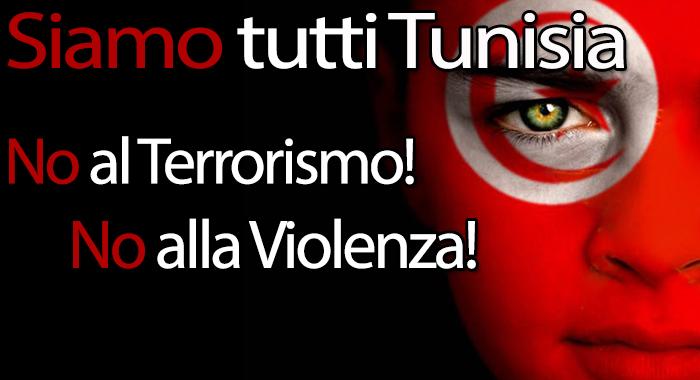 Siamo tutti Tunisia -  Sit-in contro il terrorismo.