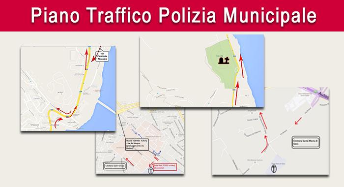Commemorazione defunti - Piano traffico polizia municipale