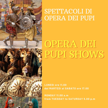 Immagine - Opera dei Pupi show
