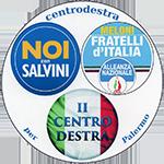Centrodestra per Palermo, Noi con Salvini E M.S.I.