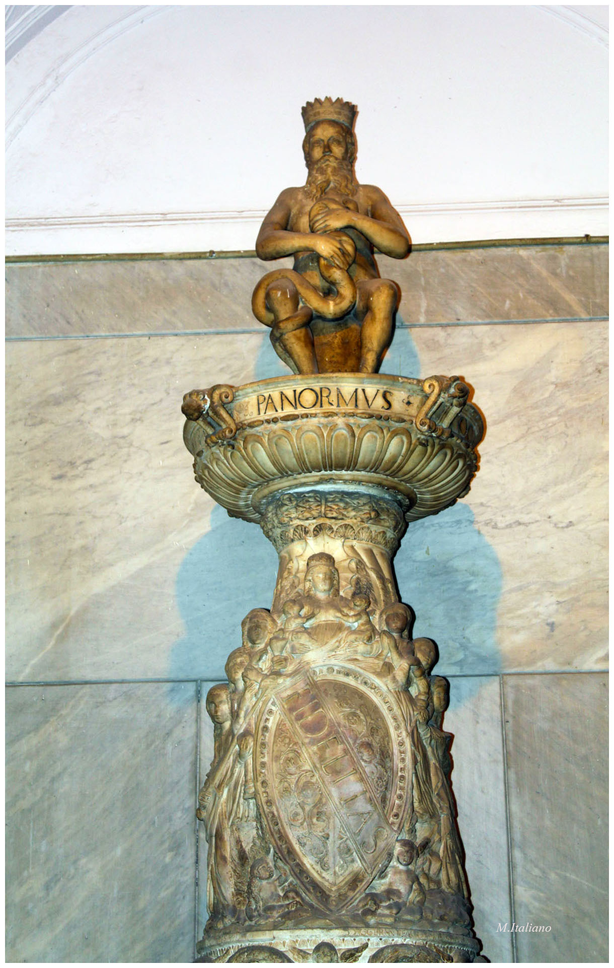 Il Genio di Palazzo delle Aquile