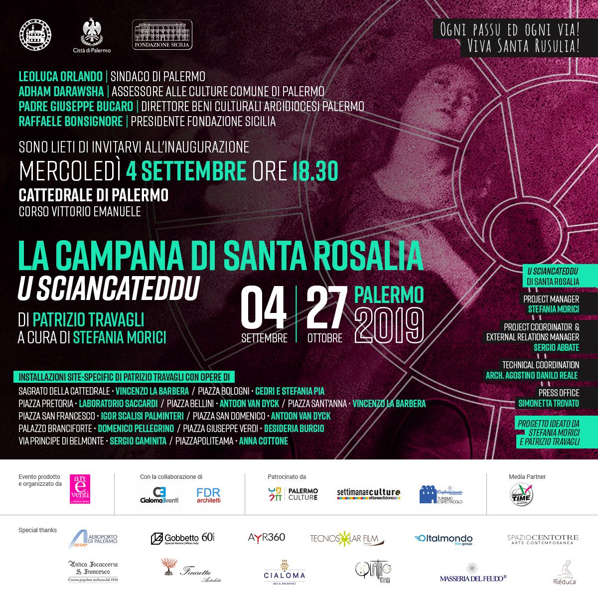 La Campana di Santa Rosalia (U Sciancateddu)