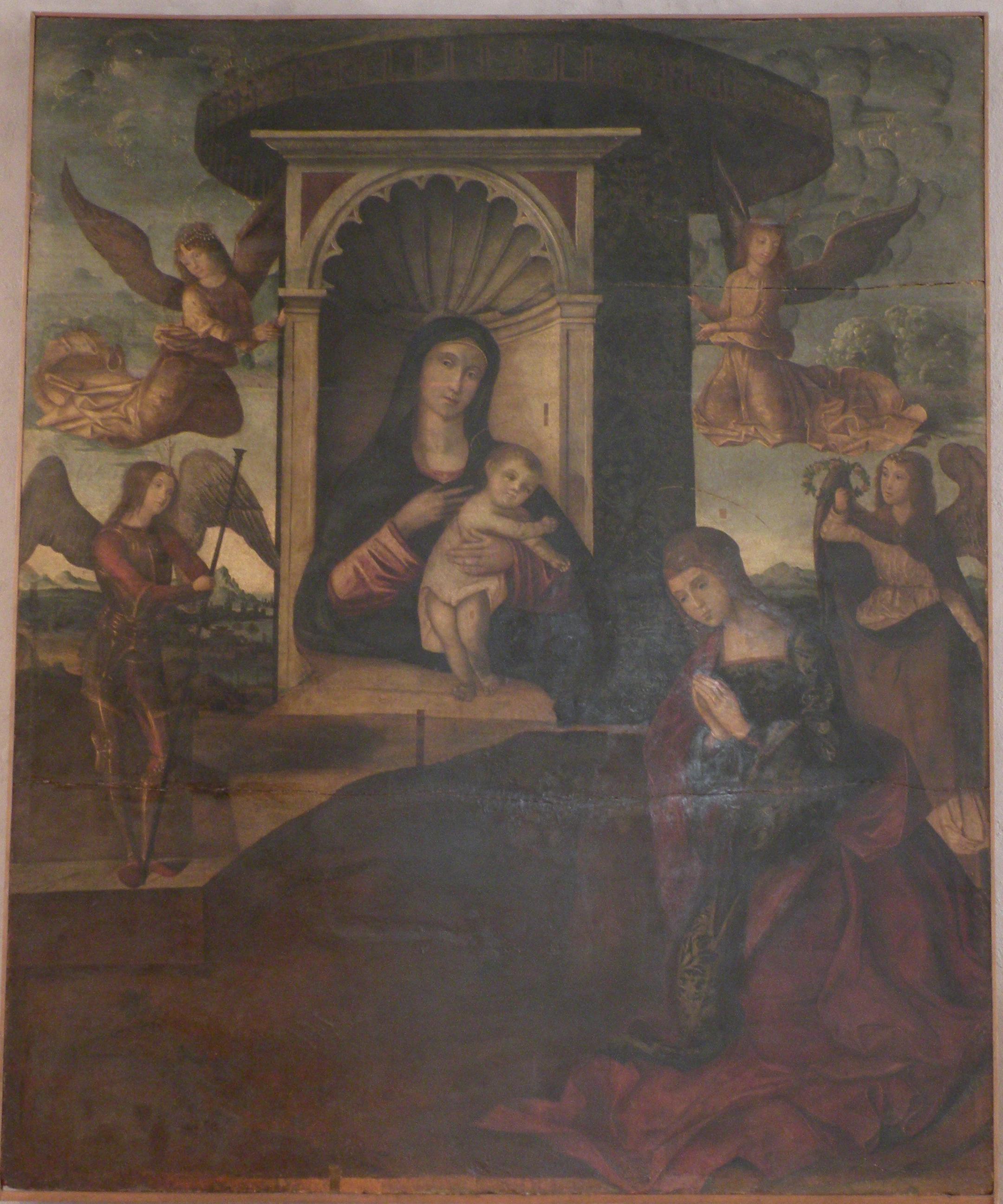 S.Rosalia ai piedi della Vergine