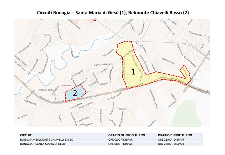 Circuito Bonagia-Santa Maria di Gesù