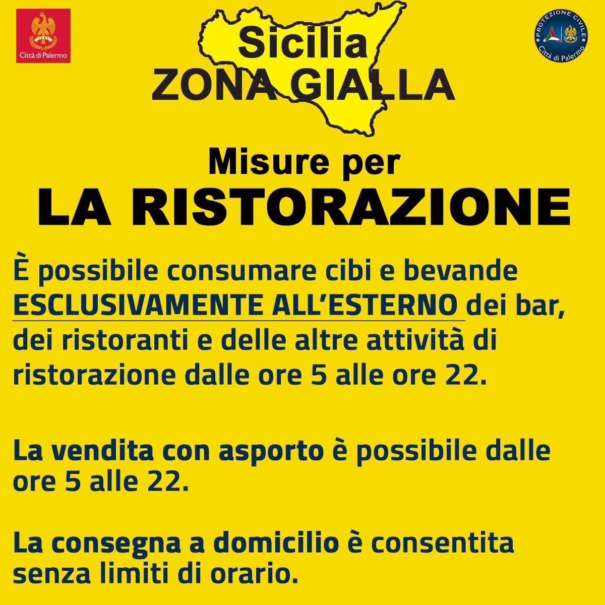 regola zona gialla