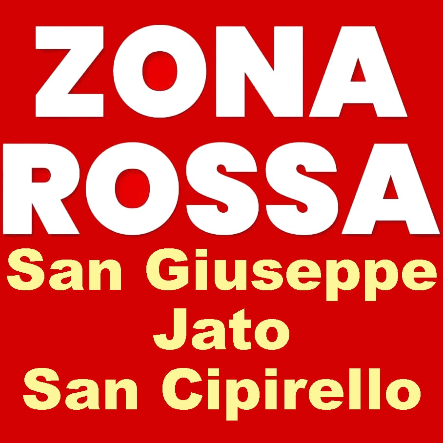 Covid-19. SAN GIUSEPPE JATO E SAN CIPIRELLO ZONA ROSSA DAL 25 FEBBRAIO