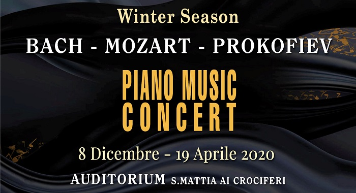 Palermo Classica Winter Season 2019/2020 - Piano Music Concert