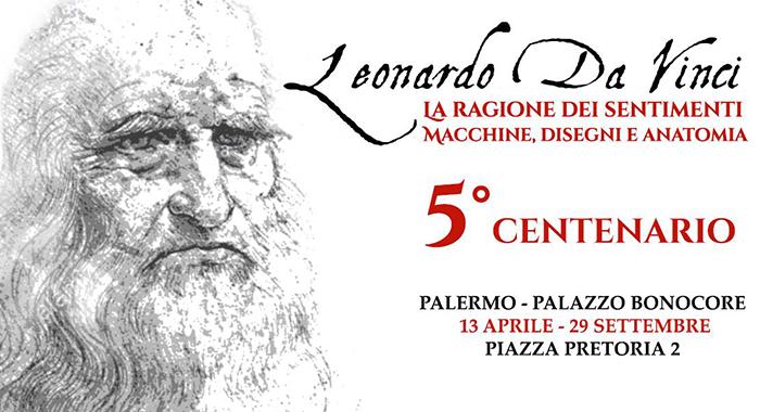 Leonardo da Vinci la Ragione dei Sentimenti Macchine, Disegni e Anatomia